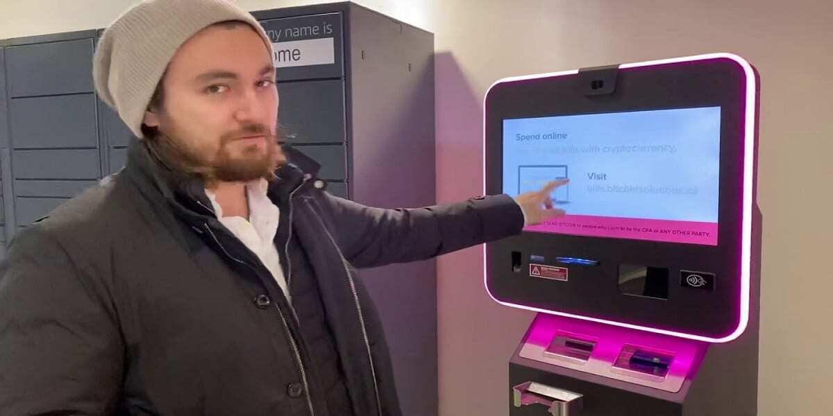 Kanada'da ATM Kullanarak Kripto Para Almak Mümkün
