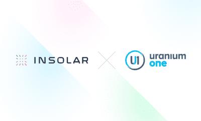 Insolar Uranium One ile Tedarik Zinciri Partnerliğine İmza Attı