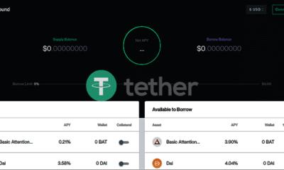 Compound Tether USDT İşlemlerini Başlatıyor!