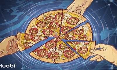 Bitcoin Pizza Günü'nde Pizzalar Huobi'den!