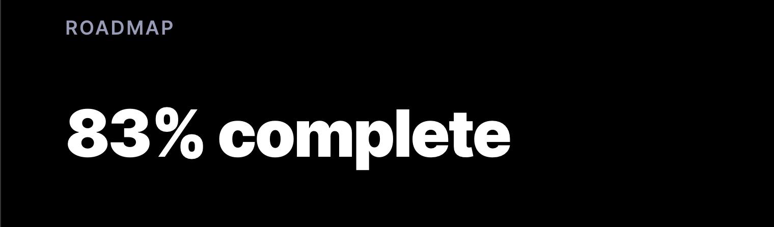 Cosmos Roadmap
