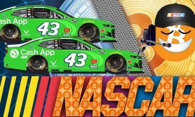 NASCAR'da Bitcoin Logosu!