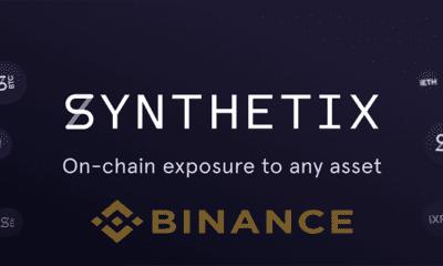 Binance Yine Bir DeFi Ürünü Listeliyor! Synthetix SNX Binance'te