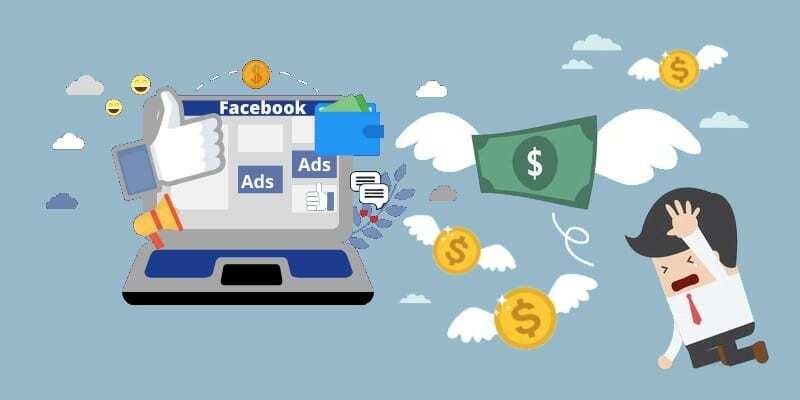 Facebook reklamı tüm birikimini yedi