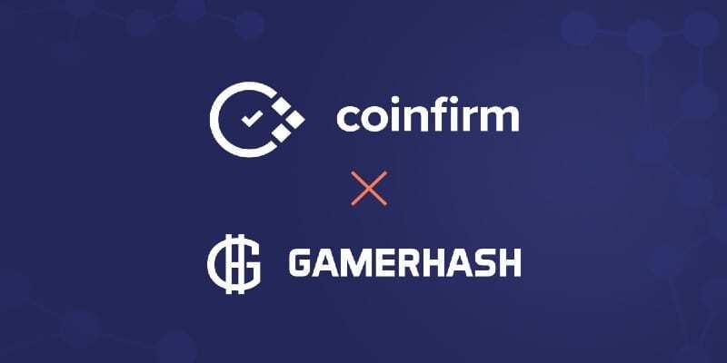 gamerhash Coinfirm anlaşması
