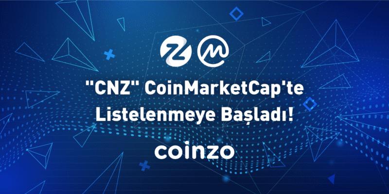 CNZ Coinmarketcap'te Listelendi