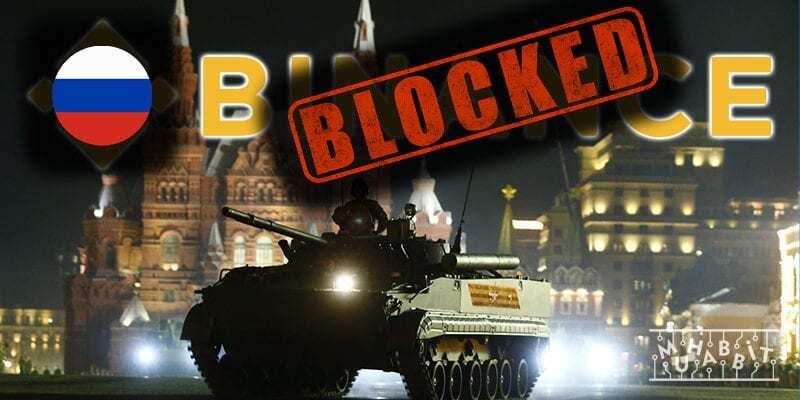 Rusya, Binance'in İnternet Sitesini Yasakladı!
