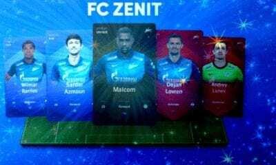 """Rusya Premier Ligi Futbol Kulübü Zenit'ten """"NFT"""" Adımı!!"""