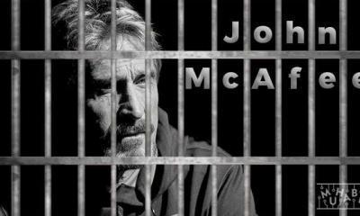 Tutuklu John McAfee'den İlk Açıklama Geldi: Hapishanede Harika Zaman Geçiriyorum