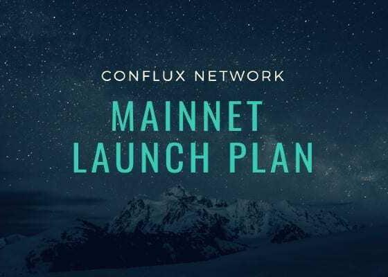 Conflux Network Mainnet'i Geliyor! 29 Ekim'de Aktif!