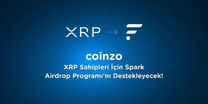 Coinzo XRP Spark Dağıtımını Destekliyor!