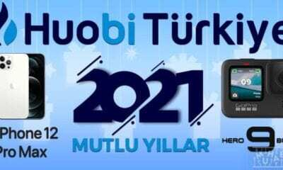 Huobi Türkiye'nin iPhone 12 Pro Max ve GoPro HERO9 Ödüllü Yılbaşı Etkinliği Başladı!