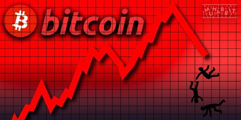 Bitcoin düşüşte