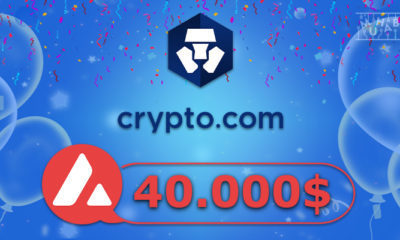 Crypto.com'dan 40 Bin Dolar Ödül Havuzlu AVAX Özel Kampanyası!