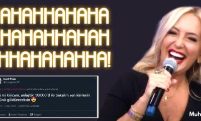 Saba Tümer'in Kahkahası 90 Bin Tl'ye Satıldı!