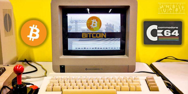 Commodore 64'ünüzle Bitcoin Madenciliği Yapmak İster misiniz?