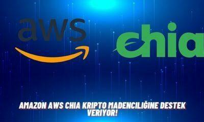 Amazon AWS Chia Kripto Madenciliğine Destek Veriyor!