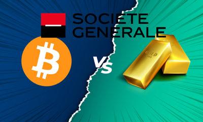 Societe Generale: Bitcoin Çok Değişken, Altın Daha İyi Bir Yatırım Aracı!