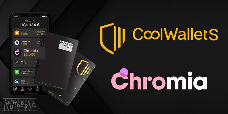 CoolWallet, Chromia'nın Yerel Tokenını Desteklediğini Açıkladı!