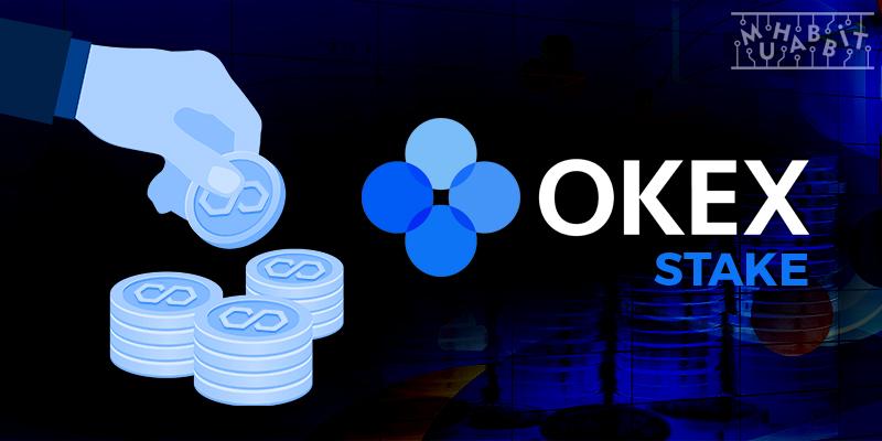okex matic stake