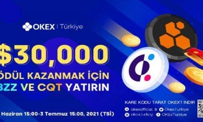 OKEx BZZ ve CQT Etkinliğini Duyurdu! 30,000 Dolar Değerinde Ödül Havuzu!