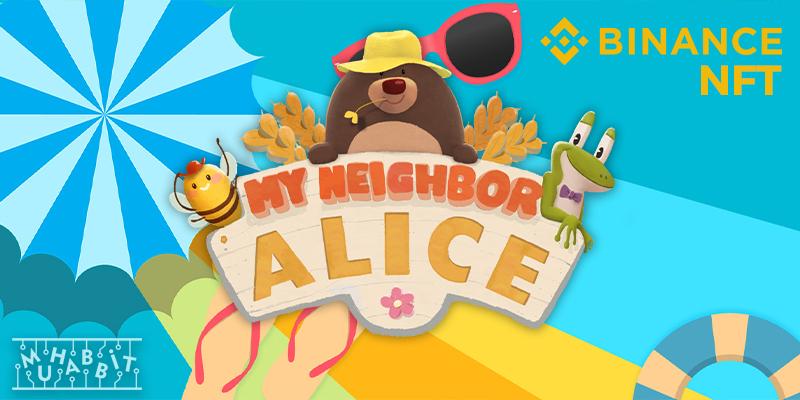my neighbor alice binance nft muhabbit