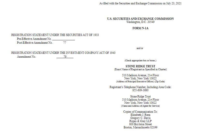 Screenshot 1 1 - Varlık Yönetimi Devi Stone Ridge, Bitcoin Fonu İçin SEC'e Başvurdu!