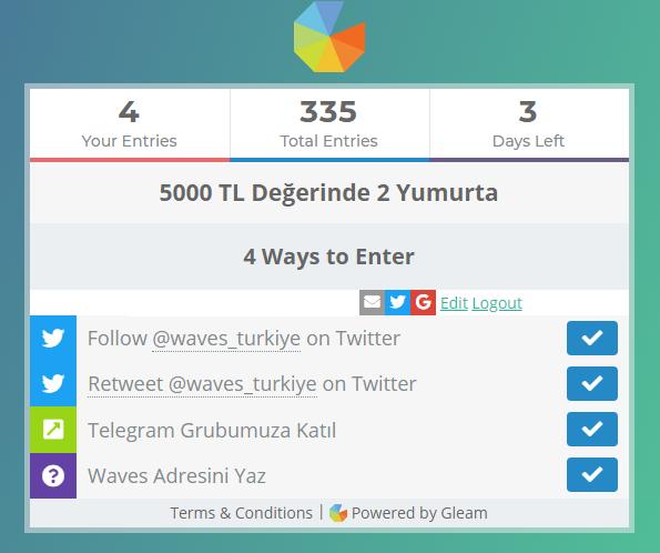 Screenshot 3 2 - Waves Türkiye, 5000 TL Ödüllü Etkinlik Düzenliyor!