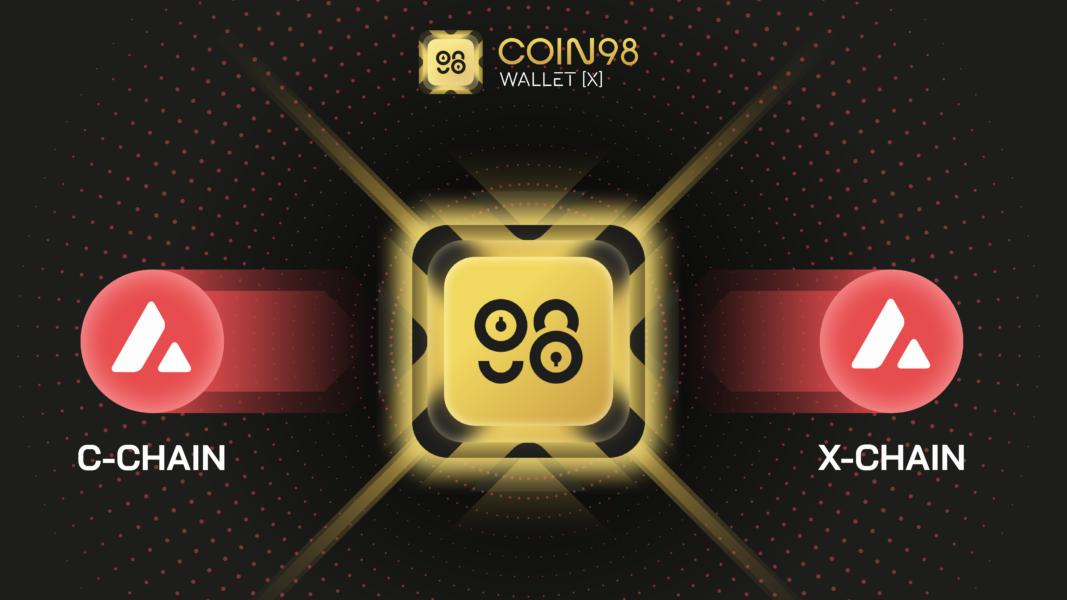 avalancheC X Chain 1067x600 - Coin98 Cüzdanı Yeni X Sürümünü Tanıttı!