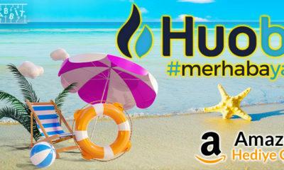 """Huobi, Amazon Hediye Çeki Ödüllü """"Merhaba Yaz"""" Kampanyası Düzenliyor!"""
