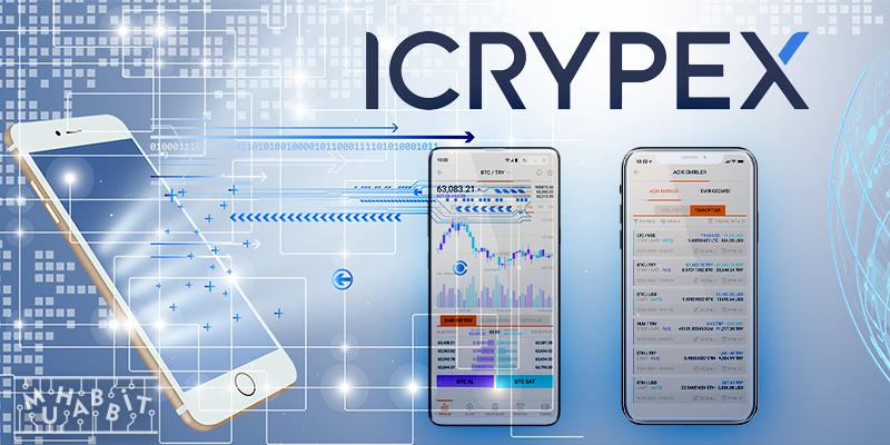 ICRYPEX mobil uygulama muhabbit