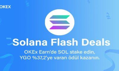 OKEx Solana (SOL) İçin Flash Staking Etkinliğini Başlatıyor! Yüzde 37 Getiri!