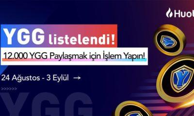 Yield Guild Games (YGG) Huobi'de Listelendi! 12.000 YGG Ödüllü Etkinlik Başlatıldı!