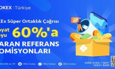 OKEx Süper Ortaklık Programını Duyurdu!