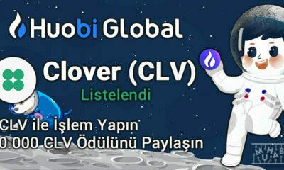 Clover Finance (CLV) Huobi'de Listelendi! 60.000 CLV Ödüllü Kampanya Başlatıldı!