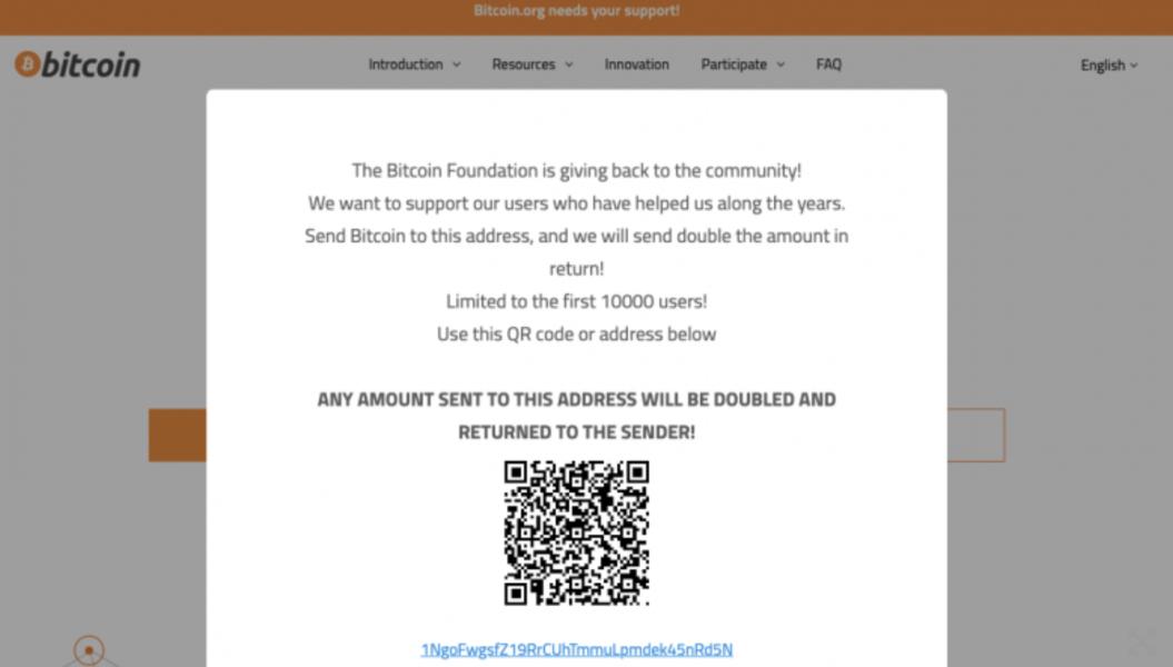 Screen Shot 2021 09 23 at 09.45.06 1055x600 - Bitcoinorg Hacklendi! Sahte Giveaway!