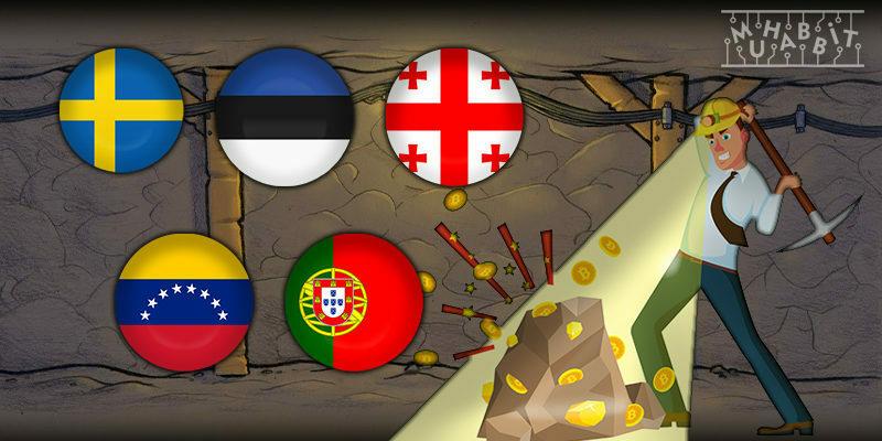 Bitcoin Madenciliği Yapılabilecek Ülkeler