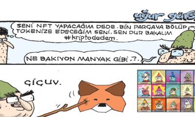 NFT Kervanına Sevilen Karikatürist Uğur Gürsoy da katıldı!