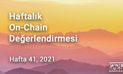 Haftalık On-Chain Değerlendirmesi Hafta 41, 2021